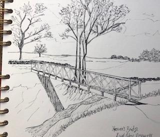 Ink drawing Roydmoor