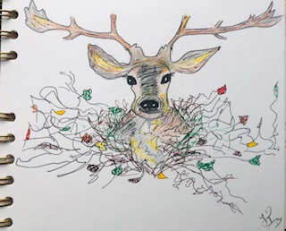 Ink Stag