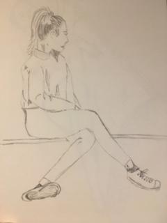 posing sketch