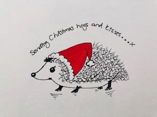 Xmas Hedgehog